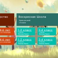 Новая Программа Для Воскресной Школы и Детского Царства